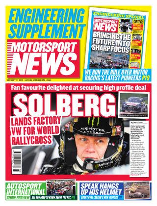 Motorsport News 11th January 2017