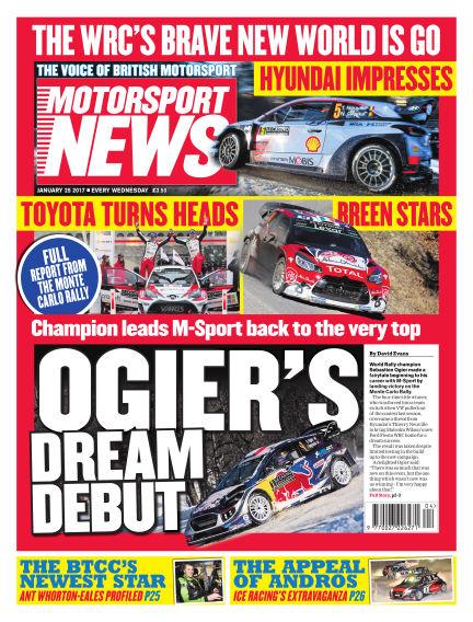 Motorsport News January 25, 2017 00:00