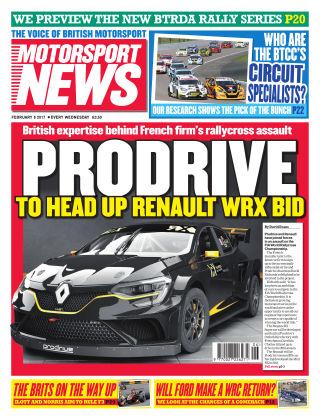 Motorsport News 8th February 2017