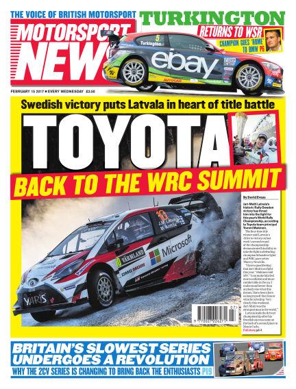 Motorsport News February 15, 2017 00:00