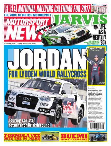 Motorsport News February 22, 2017 00:00