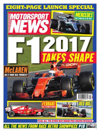 Motorsport News 1st March 2017