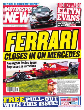 Motorsport News 8th March 2017