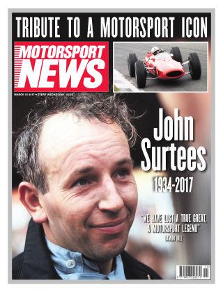 Motorsport News 15th March 2017