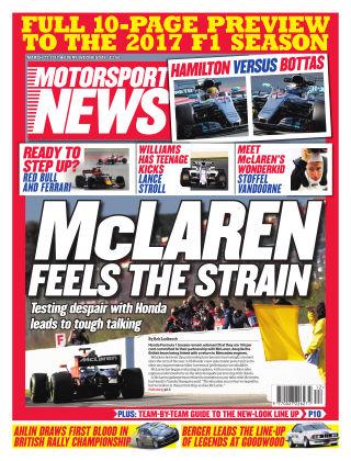 Motorsport News 22nd March 2017