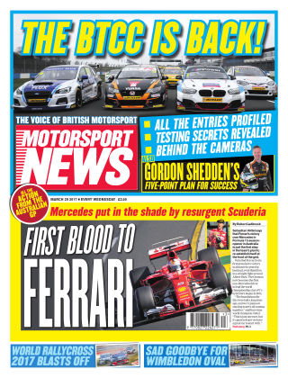 Motorsport News 29th March 2017