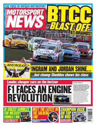 Motorsport News 5th April 2017