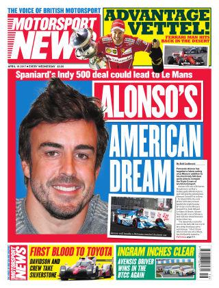 Motorsport News 19th April 2017