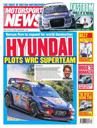 Motorsport News 26th April 2017