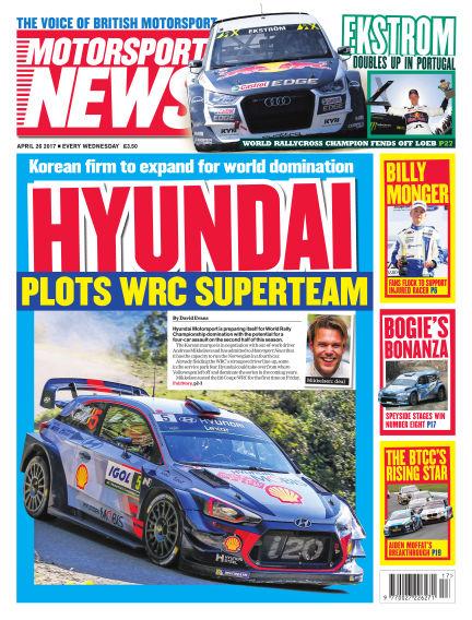 Motorsport News April 26, 2017 00:00
