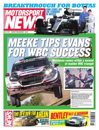 Motorsport News 3rd May 2017