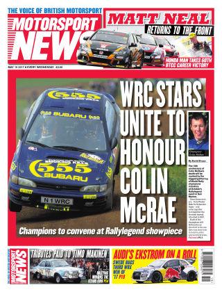 Motorsport News 10th May 2017