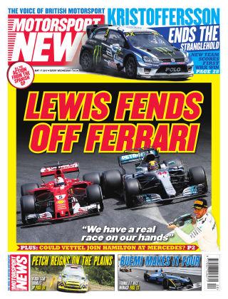 Motorsport News 17th May 2017