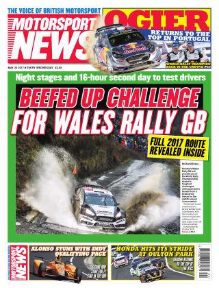 Motorsport News 24th May 2017