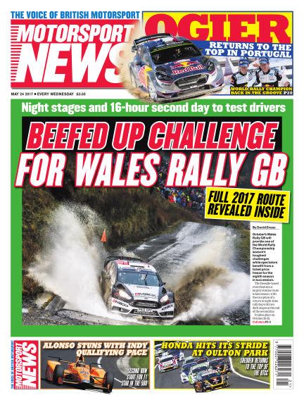 Motorsport News May 24, 2017 00:00