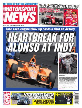 Motorsport News 31st May 2017