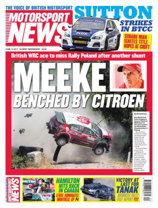 Motorsport News 14th June 2017