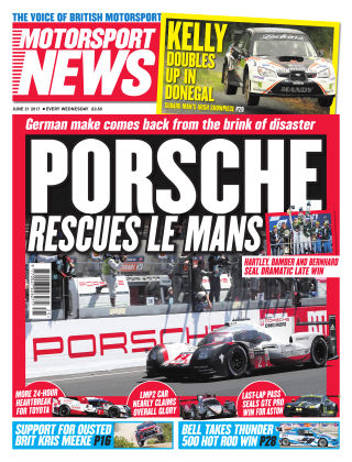 Motorsport News 21st June 2017