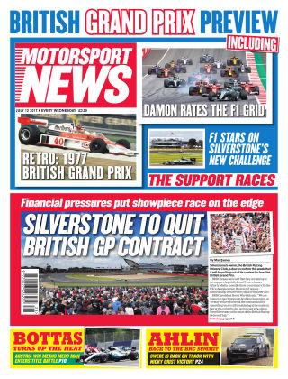 Motorsport News 12th July 2017