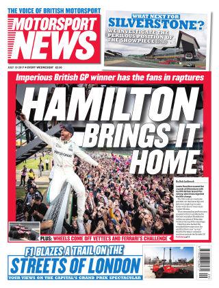 Motorsport News 19th July 2017