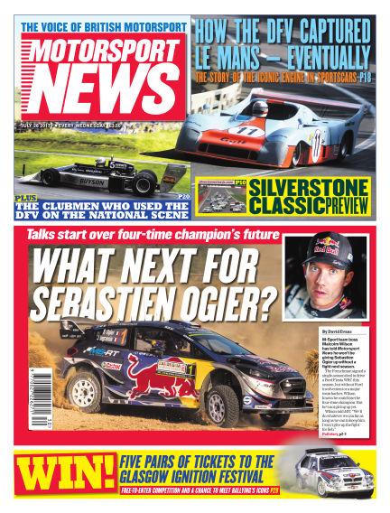 Motorsport News July 26, 2017 00:00