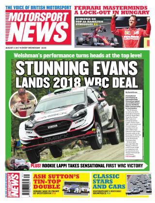 Motorsport News 2nd August 2017