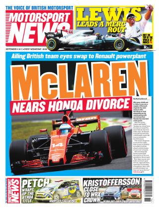 Motorsport News 6th September 2017