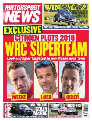 Motorsport News 13th September 2017
