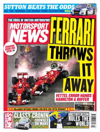 Motorsport News 20th September 2017