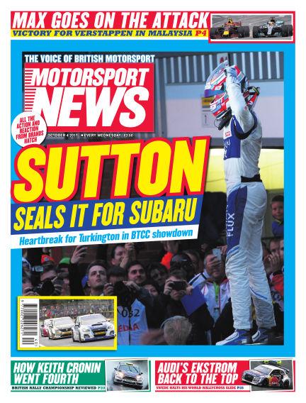 Motorsport News October 04, 2017 00:00