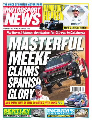Motorsport News 11th October 2017