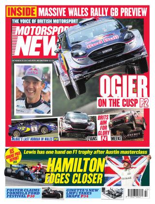 Motorsport News 25th October 2017