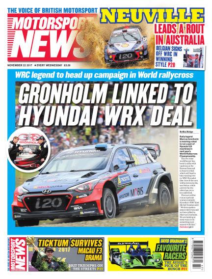 Motorsport News November 22, 2017 00:00