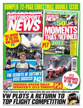 Motorsport News 20th December 2017