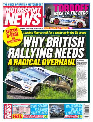 Motorsport News 14th February 2018