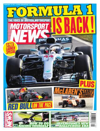 Motorsport News 28th February 2018