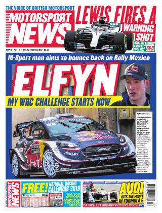 Motorsport News 7th March 2018