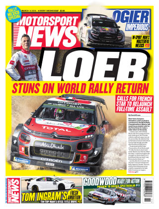 Motorsport News 14th March 2018