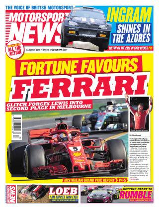 Motorsport News 28th March 2018