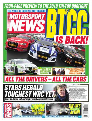 Motorsport News 4th April 2018