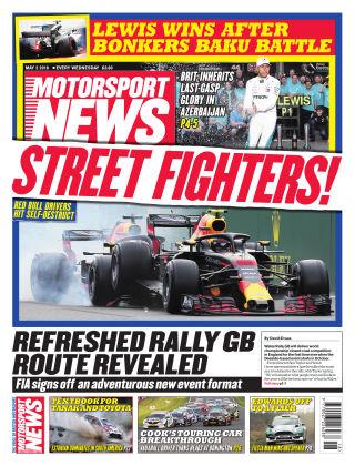 Motorsport News 2nd May 2018