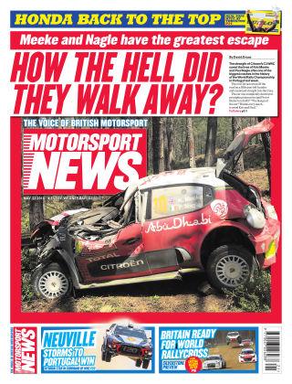 Motorsport News 23rd May 2018