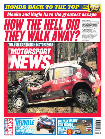Motorsport News May 23, 2018 00:00