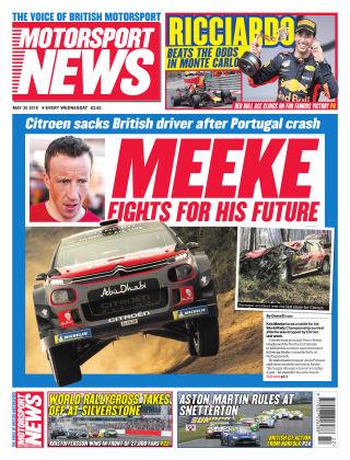 Motorsport News 30th May 2018