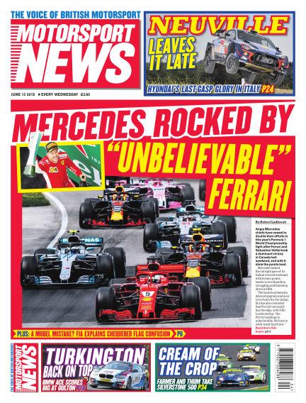 Motorsport News June 13, 2018 00:00