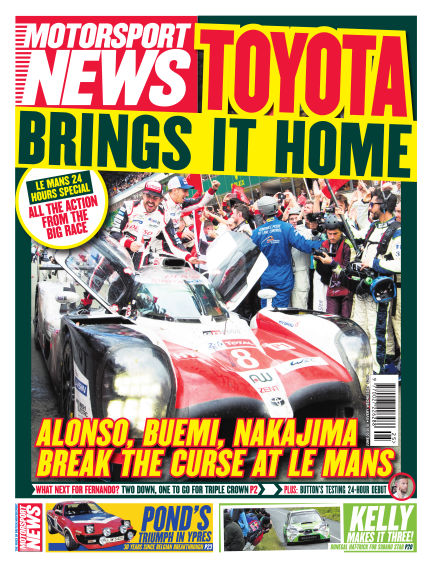Motorsport News June 20, 2018 00:00