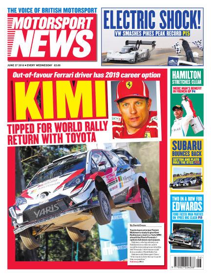 Motorsport News June 27, 2018 00:00