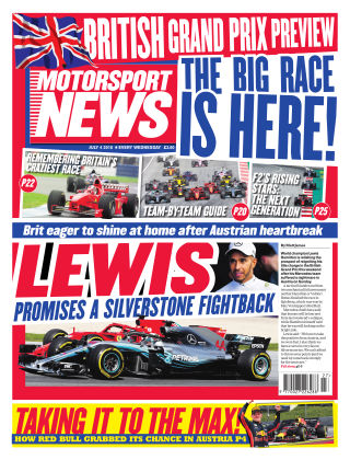 Motorsport News 4th July 2018