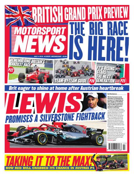 Motorsport News July 04, 2018 00:00