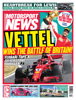 Motorsport News 11th July 2018